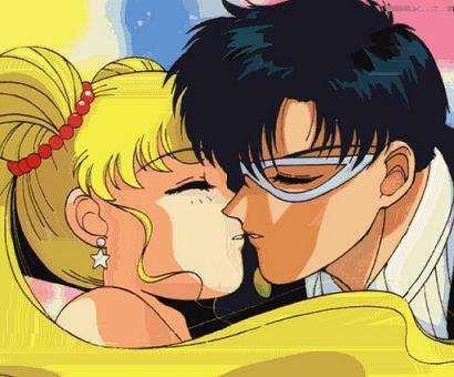 lol sad, but Serena & Darien - Sailor Moon.