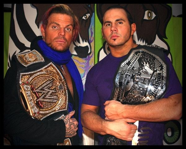 ECW AND WWE CHAMPS!!!!!!!!! Matt & Jeff Hardy