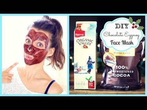 ▶ DIY Chocolate Eggnog Face Mask ❄ #DIYDecember Day 5 - YouTube