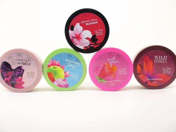 Bath Body Works Ultra Shea Body Butter 7oz Murumuru & Coconut Oil U Choose Scent  | eBay