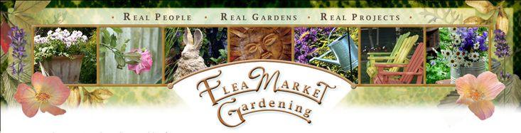 Flea Market Gardening  New logo by Stephie McCarthy  http://www.stephiemccarthy.com/  Thanks, Steph!