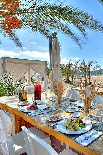 Ushuaia Ibiza Beach Club Restaurant