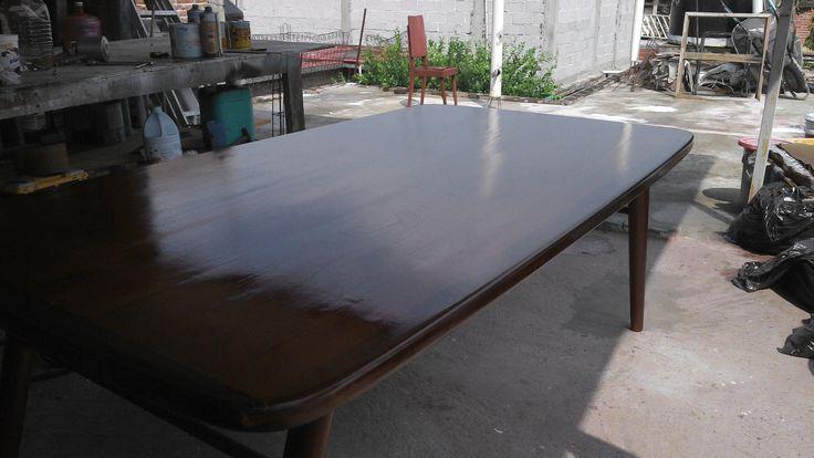 Mesa remodelada