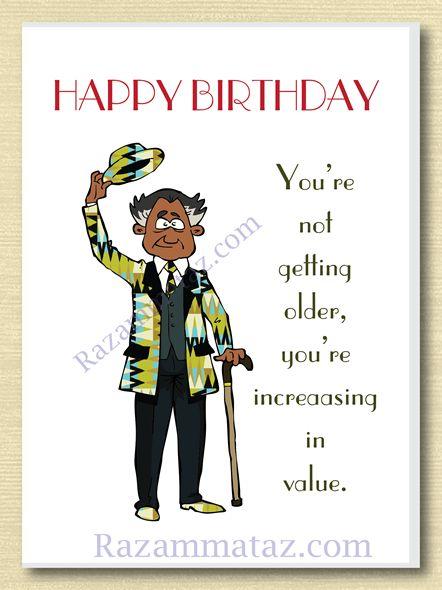 African American Male Birthday Card C