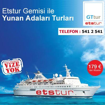 Etstur Gemisi ile Yunan Adaları Turu sizleri bekliyor. #ANKAmall #Etstur