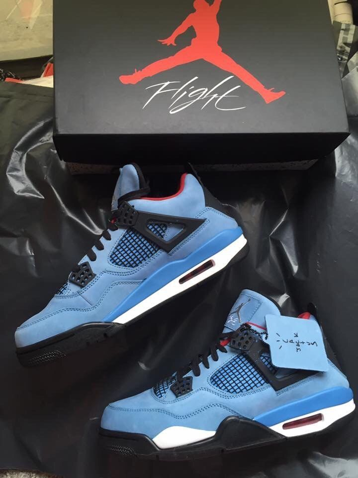 purchase cheap c3054 fd9f4 JORDAN 4 RETRO CACTUSJACK TRAVIS SCOTT SIZE 10  fashion  clothing  shoes   accessories  mensshoes  athleticshoes (ebay link)