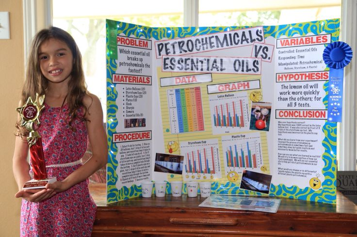 first place science fair projects Compete instructions on how to do a science fair project and set up a  four older  children have won 1st or 2nd place at regional science fair.