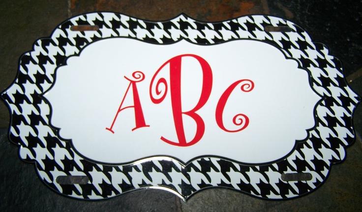 Roll Tide! Alabama Car Tag