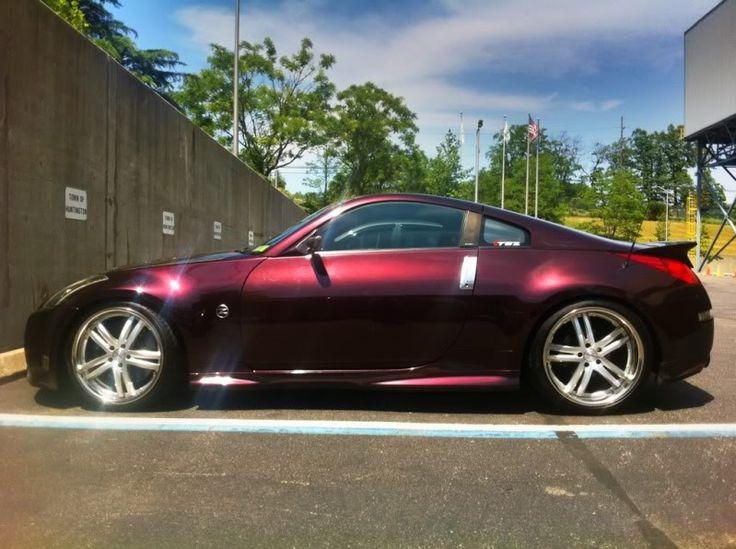 Nissan 370 Z Black Cherry
