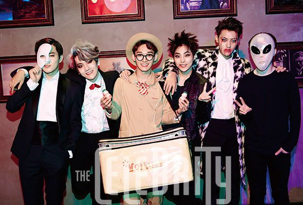SM Town - SM Town Halloween Party, The Celebrity Magazine December Issue '14 - EXO