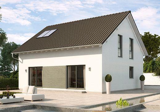 Fertighaus günstig bauen - Buchenallee V1 - zusätzliches Arbeitszimmer im Erdgeschoss-GUSSEK HAUS