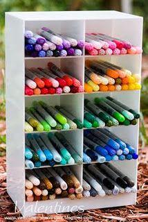 Organization for scrapbook/craft rooms