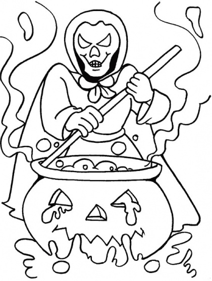 862 best 5 - Halloween - Coloring Pages images on Pinterest - best of nice halloween coloring pages