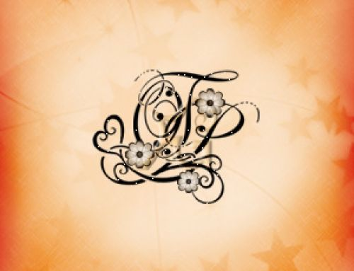Stemma di famiglia OTP lettere stilizzate e simboli