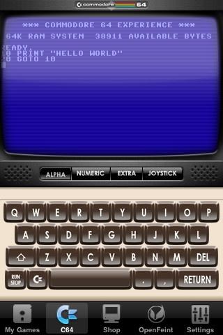 C64 Emulator for iOS