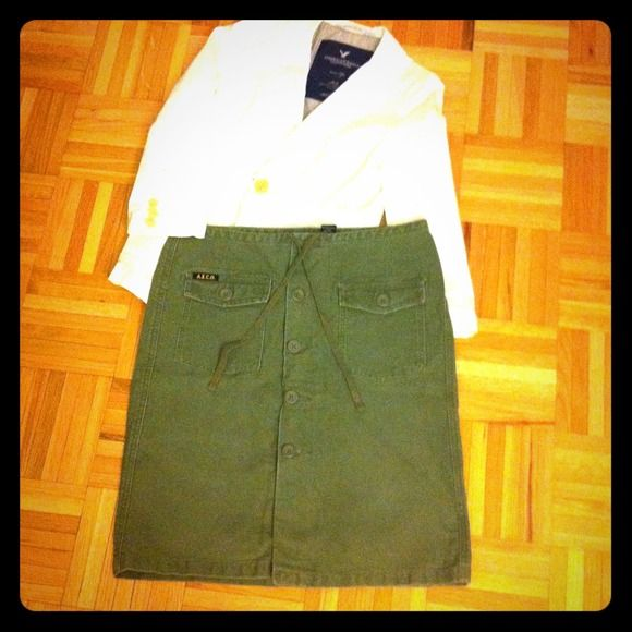 American Eagle Outfitters Dresses & Skirts -  American Eagle Military Style Skirt