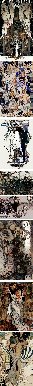 best tran nguyen images on pinterest artists coloured pencils