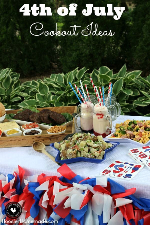 4th of july cookout images