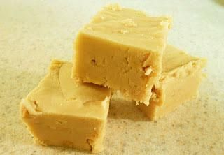 Best Ever Peanut Butter Fudge (with marshmallow cream and evaporated milk)