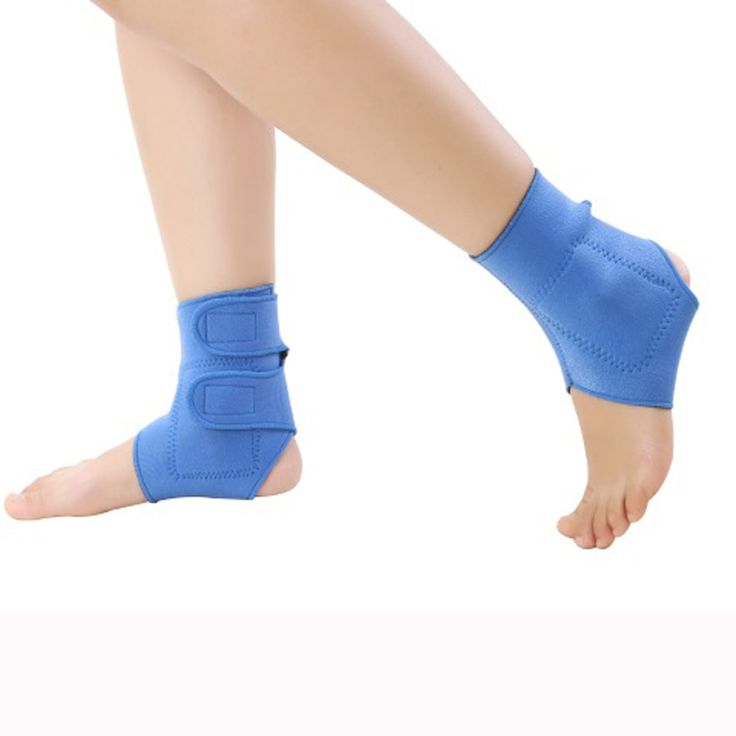 6.64$  Know more - 2 pcs Elastic tourmaline magnetic therapy Ankle Brace Support Band Sports Gym Protects Therapy shoes ankle protector   #SHOPPING