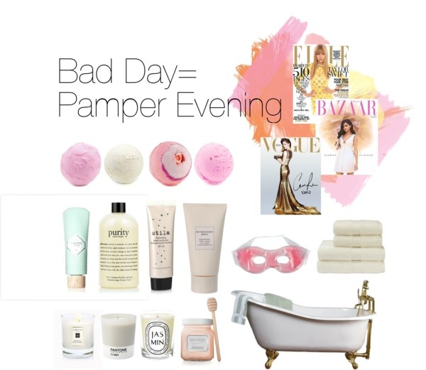 """Dream Pamper Evening"" by chiaralikeshippos ❤ liked on Polyvore"