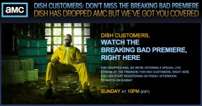 AMC Giveth, While Viacom Taketh Away: Breaking Bad Season Premiere To Be Streamed Live Online