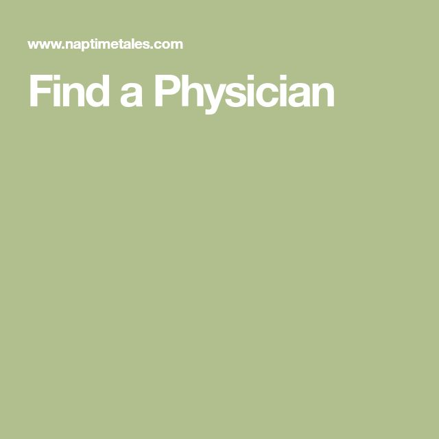 Find a Physician