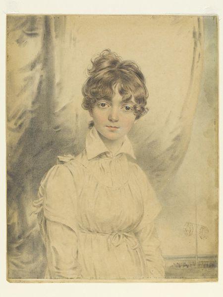 Ann Phoebe Downman, aged 15 | John Downman (1750-1824) Watercolour.