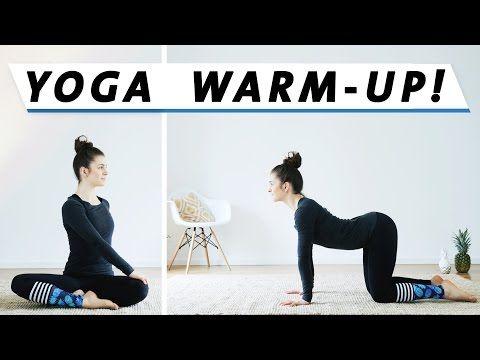 Aufwärmen vor dem Yoga | Perfekt nach dem Aufstehen | Warm Up Morgen Routine - YouTube