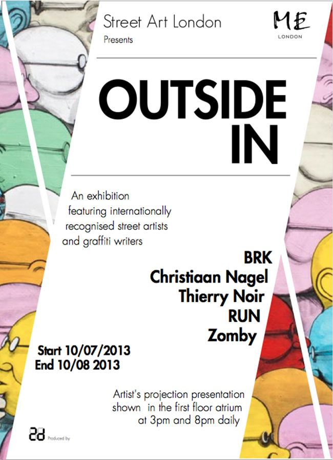 ME London exhibition with Street Art London
