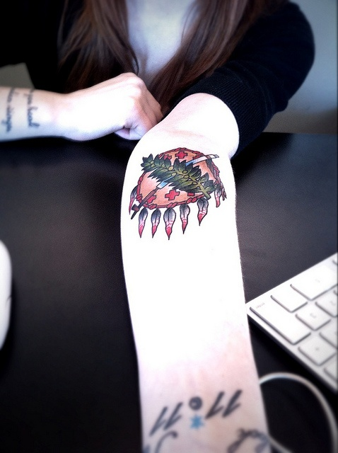 Spotted: mega cool Oklahoma tattoo at @trichology by chadosko, via Flickr