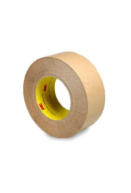 """Double coated tape 2"""", clear kut 9576: Double coated taped typically used in the printing industry."""