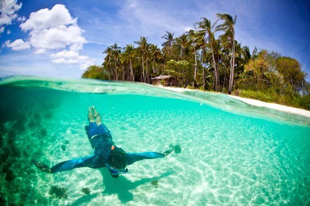 フィリピン・パラワン州リナパカン島