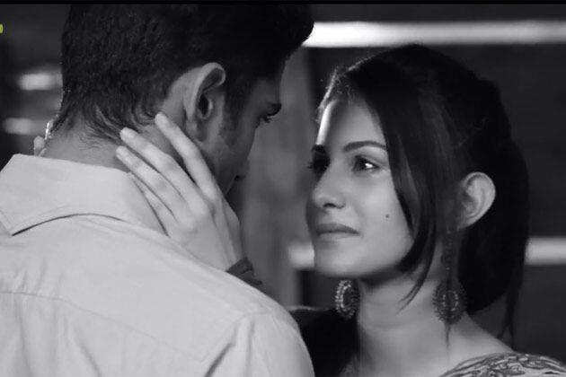 Amyra Dastur and Prateik Babbar in Issaq Movie