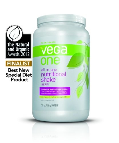 Vega One Nutritional Shake, Berry, 30 Ounce