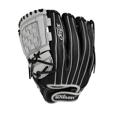 Wilson Sporting Goods Onyx Pitcher/Infield Fast Pitch Glove, Left-Handed Throw, Black