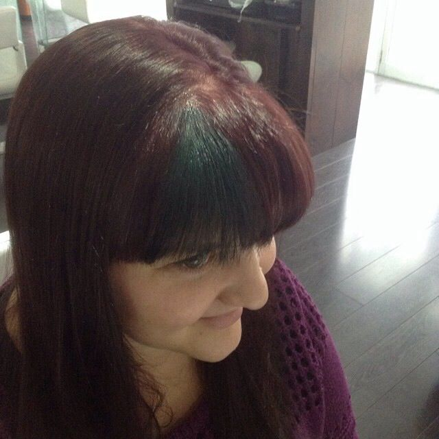 Green Hairchalk