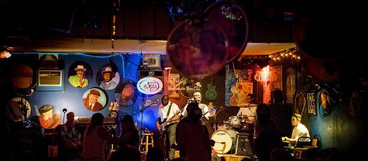 Live-Musik im Bradfordville Blues Club in Tallahassee, Florida