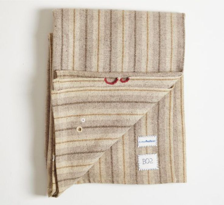 Artful Sustainability: Darned and Patched Blankets by Tom of Holland: Remodelista