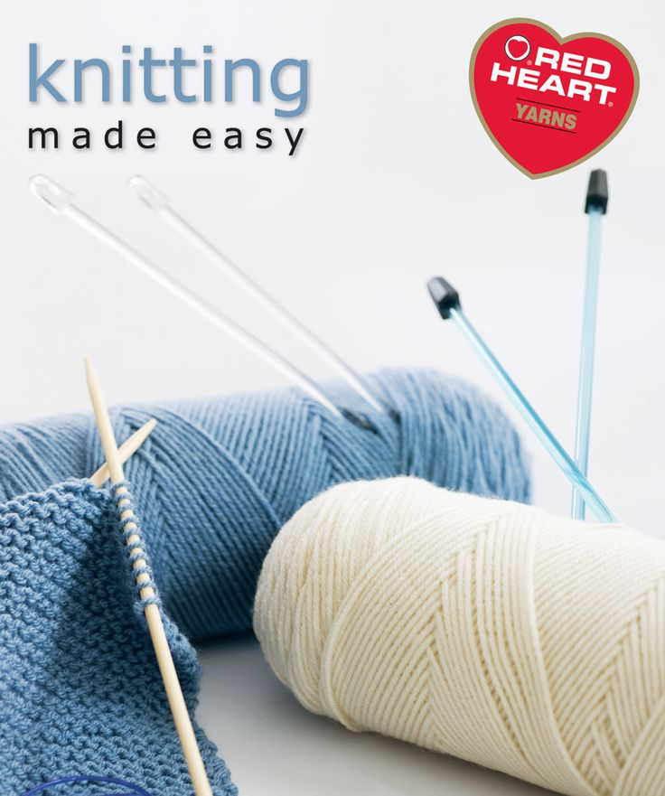 Knit Heart Pattern Easy : 17 Best images about Books for Red Heart Lovers on ...