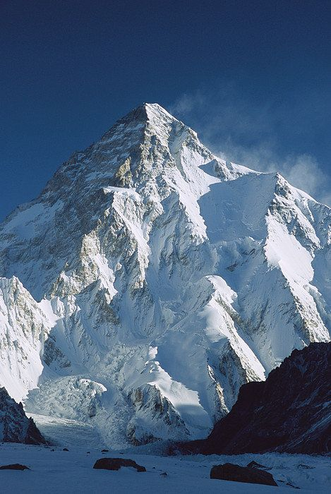K2 At Dawn Pakistan Print By Colin Monteath