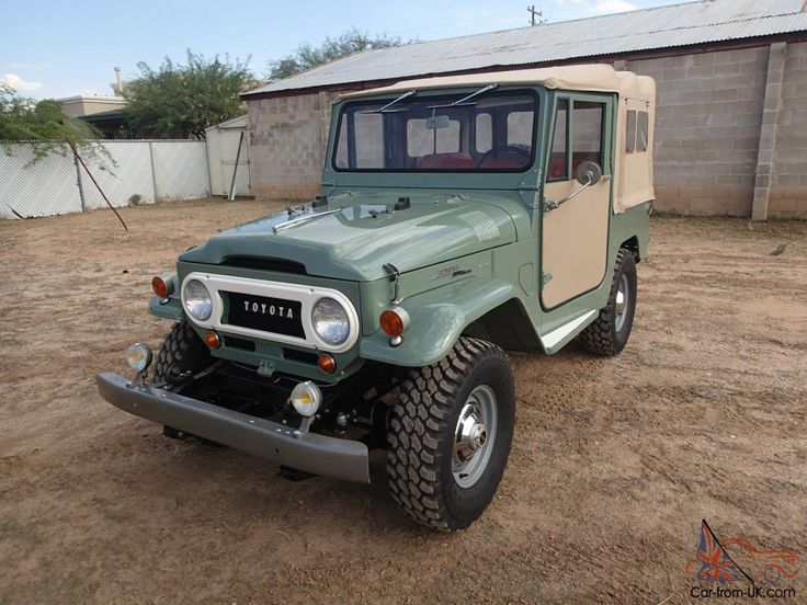 1969 Toyota Land Cruiser FST I am offering for sale a…