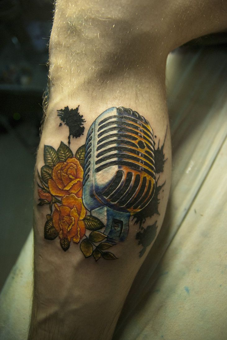 microphone by ED-Tattoo