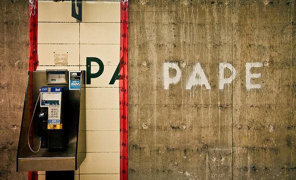Pape Station - photo by marcus kamps