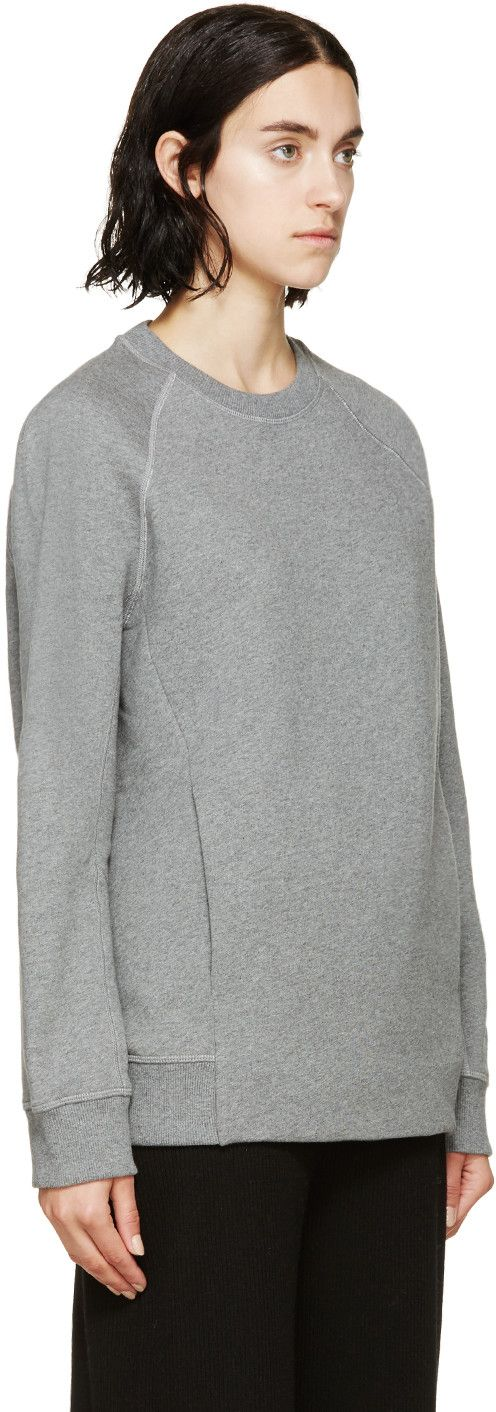 Acne Studios Grey Oversized Nikoleta Sweatshirt