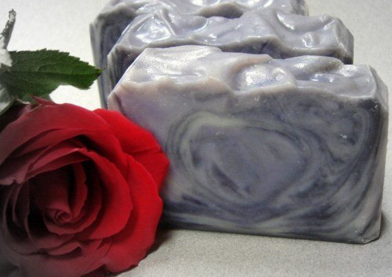 Thunder Moon.  Blackberry, Vanilla and Amber Shea Butter Soap