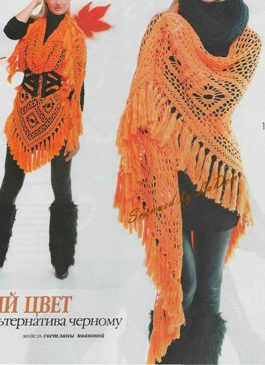 50 besten Schal, Tücher, Poncho Bilder auf Pinterest | Stricken ...