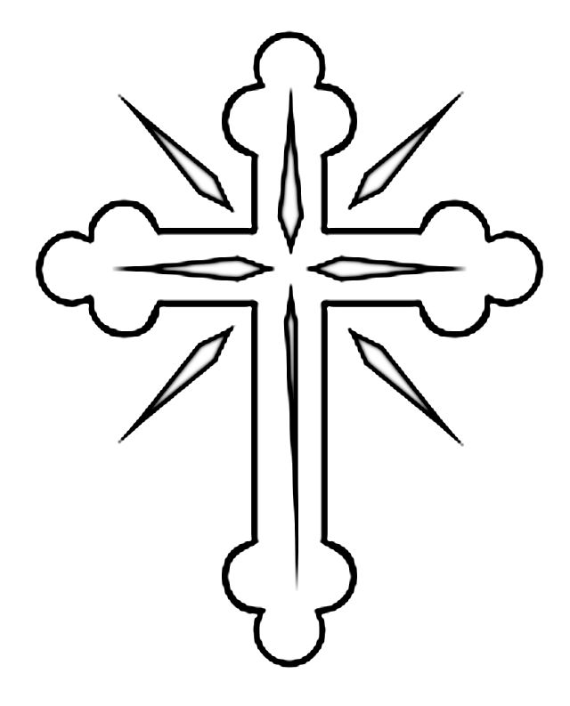 christian cross coloring pages coloring cross pages pic 23