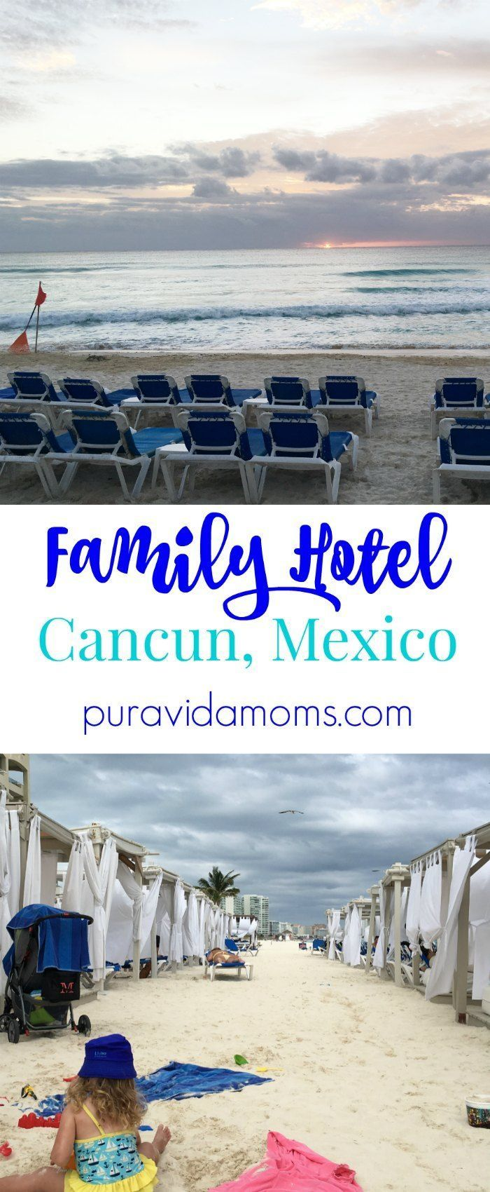 Hotel review of Hotel Gran Caribe Real in Cancun- and all the details for traveling with young children and family.