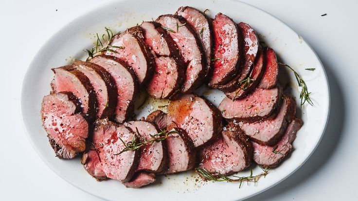 This recipe method combines high-heat searing for a crusty, well-seasoned exterior, with low-temperature roasting for a perfectly even and very tender interior. Truly the best of both worlds.